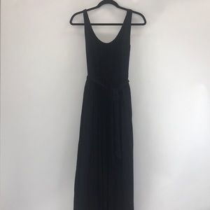 Madewell black maxi dress. Size 0